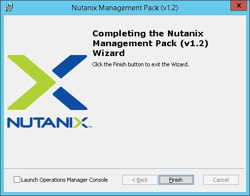 SCOM04 Nutanix SCOM Management Pack