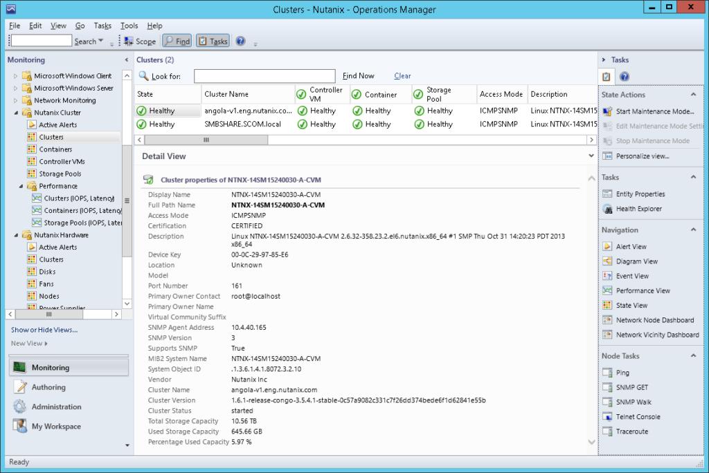 SCOM06 Nutanix SCOM Management Pack